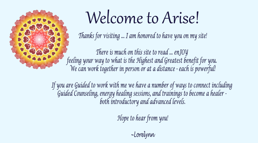 Welcome to Arise